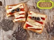 Уплашени сандвичи за Хелоуин